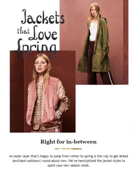 Jackets That Love Spring from Scotch & Soda