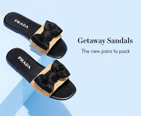 Getaway Sandals from Neiman Marcus