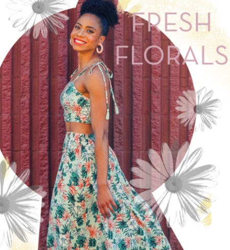 Fresh Florals from Von Maur