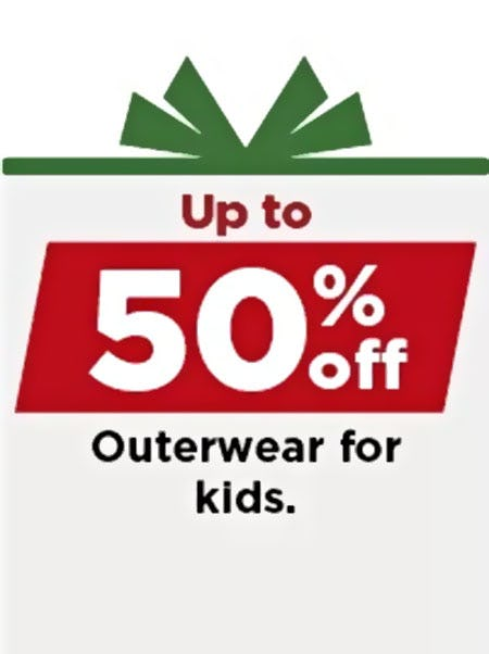 Up to 50% Off Outerwear for Kids from Kohl's