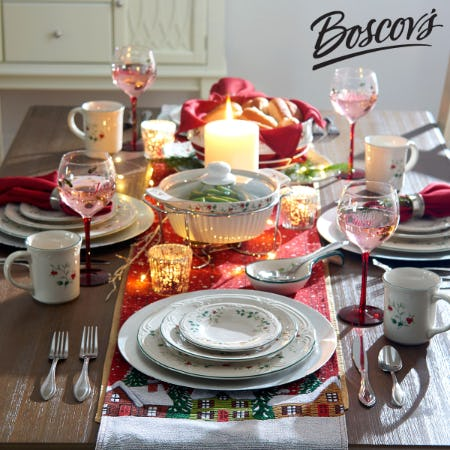 Entertaining for the Holidays Sale at Boscov's from Boscov's