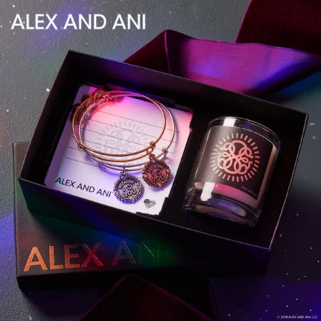 Free ALEX AND ANI Votive with Gift Box