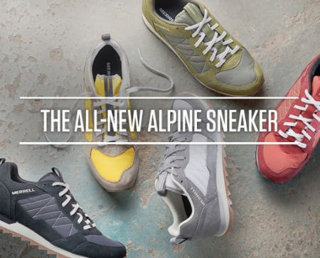 The All-New Alpine Sneaker from Merrell