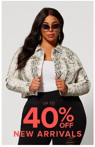 Up to 40% Off New Arrivals