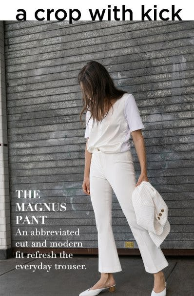 A Perfect Summer Pant from Club Monaco