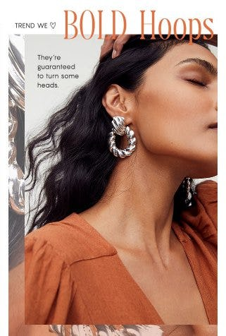 Trends We Love: Bold Hoops from Free People