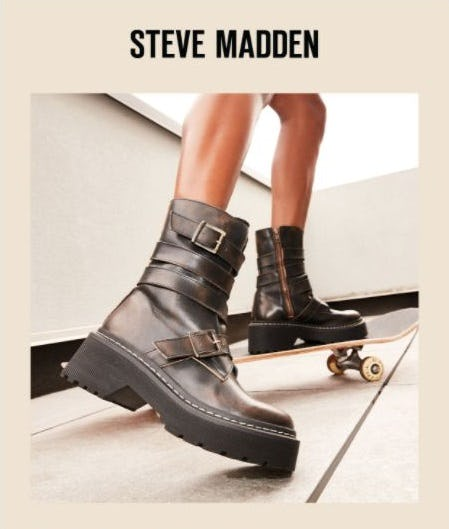 Stand at Attention in SARGE from Steve Madden