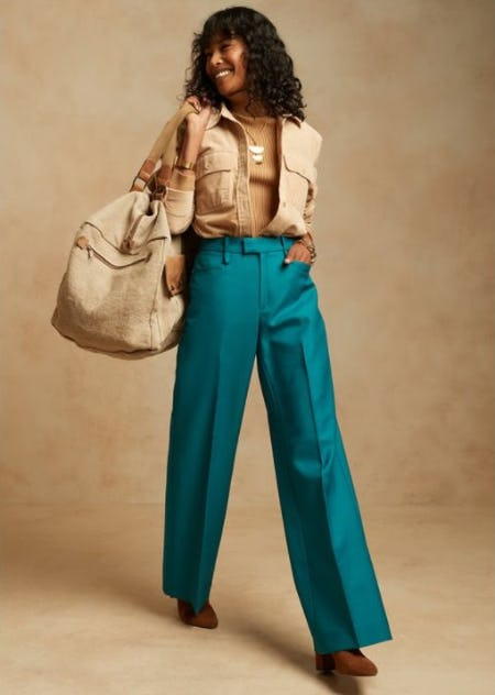 The Power of Pants from Banana Republic