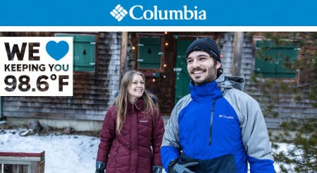 Columbia's Best Winter Wear from Cabela's