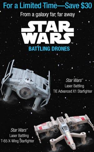 Save $30 on Star Wars Battling Drones