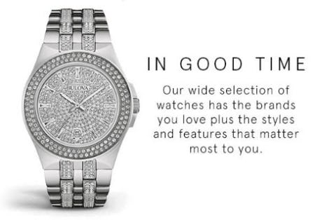 7d7307069 Watches that Set the Tone for Success at Kay Jewelers | Riverchase ...