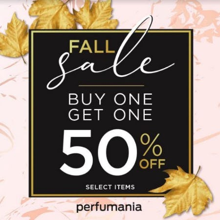 Fall Sale from Perfumania