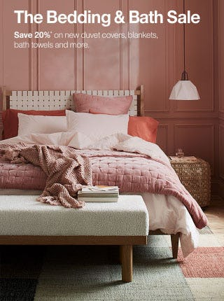 Save 20% The Bedding & Bath Sale from Crate & Barrel