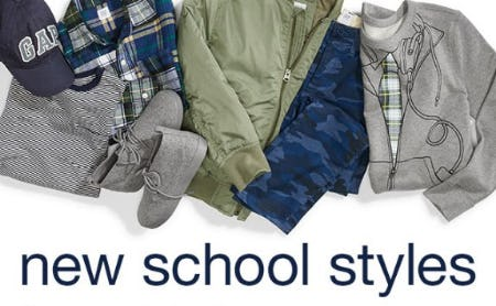 Shop New School Styles from Gap