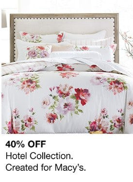 40% Off Hotel Collection