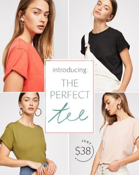 Introducing The Perfect Tee from Free People