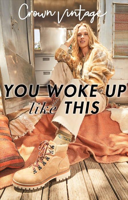 Crown Vintage: You Woke Up Like This