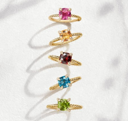 Dynamic Colors For 2019 from David Yurman