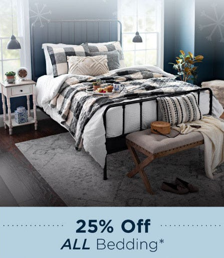 25% Off All Bedding from Kirkland's