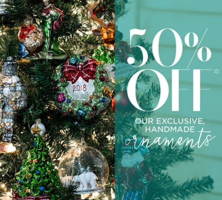 50% Off Christmas Ornaments from PAPYRUS