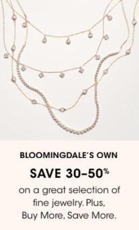 Bloomingdale's Own Save 30-50% from Bloomingdale's