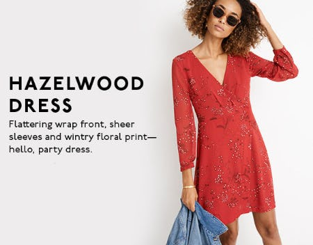 Hazelwood Dress from Madewell