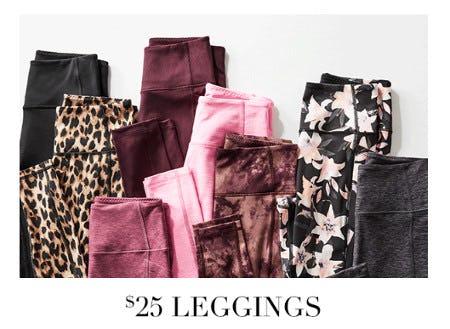$25 Leggings from Victoria's Secret