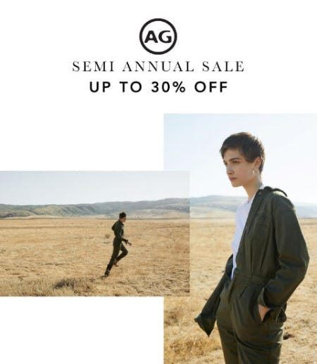 Up to 30% Off Semi Annual Sale