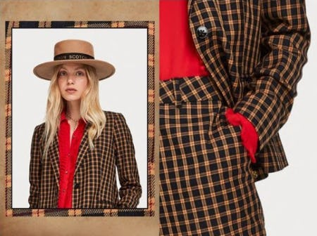 Chic Takes on Checks from Scotch & Soda