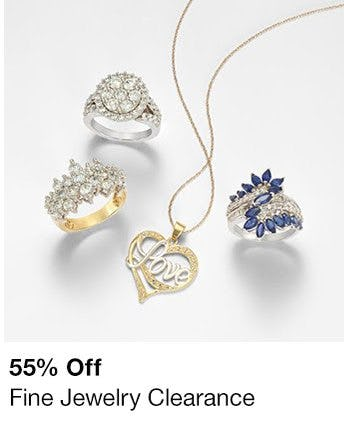 55% Off Fine Jewelry Clearance