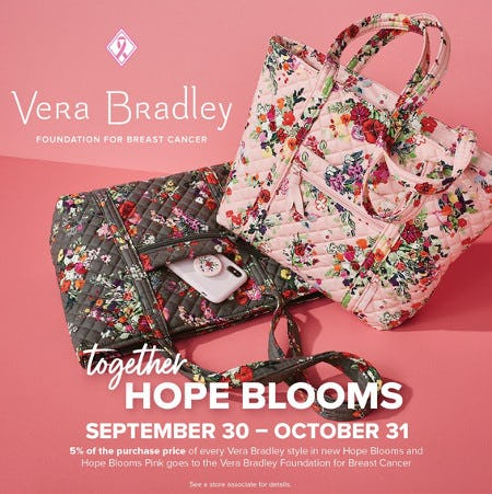 Together Hope Blooms from Vera Bradley