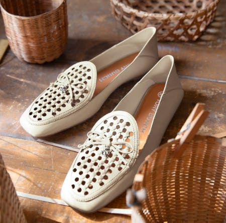 The Tory Charm loafer from Tory Burch