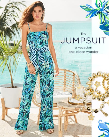 The Jumpsuit from Lilly Pulitzer