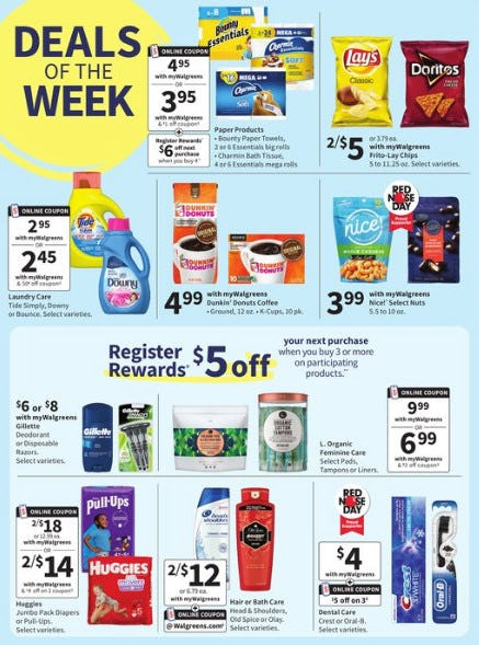 Deals of the Week from Walgreens
