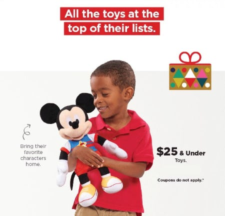 $25 & Under Toys from Kohl's