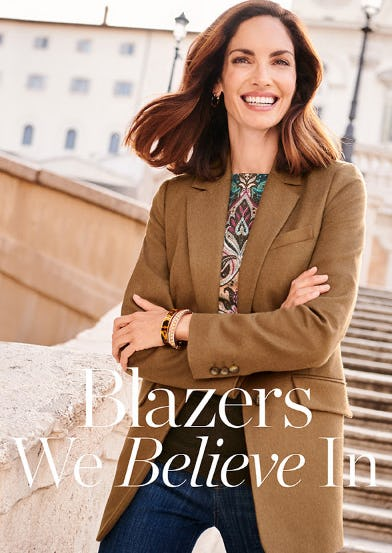 The Longer Blazer from Talbots