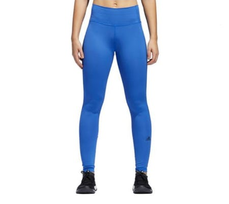 Adidas High-Rise Colourblock Leggings from Lord & Taylor