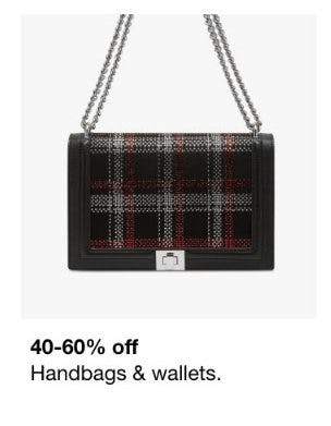40-60% Off Handbags & Wallets