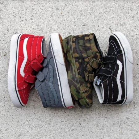 Vans Sk8 Mid Reissue V Skate Shoes from Journeys Kidz