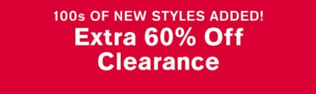 Extra 60% Off Clearance from Express