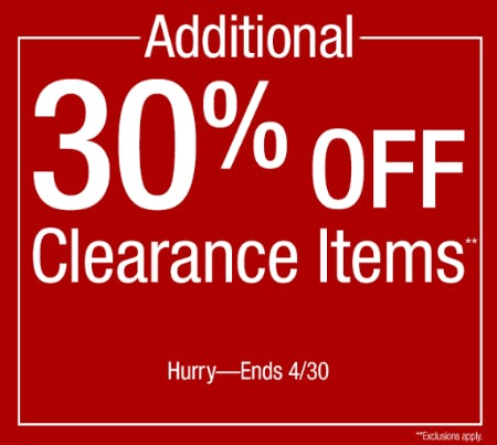 additional-30-off-clearance-items