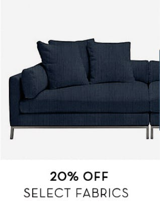 20% Off Select Fabrics from Z Gallerie