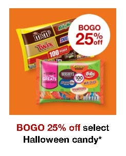 BOGO 25% Off Select Halloween Candy from Target
