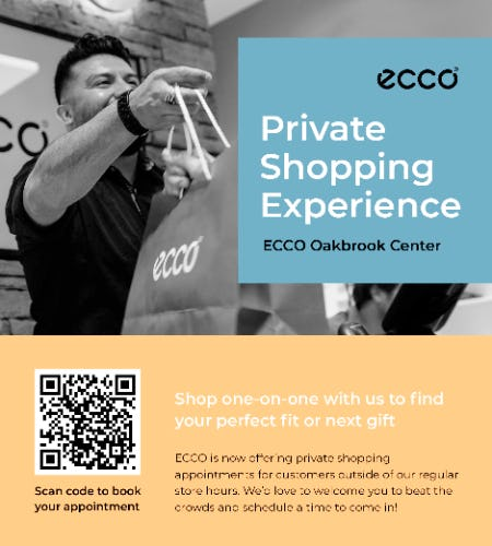 ECCO Private Shopping Experience from ECCO