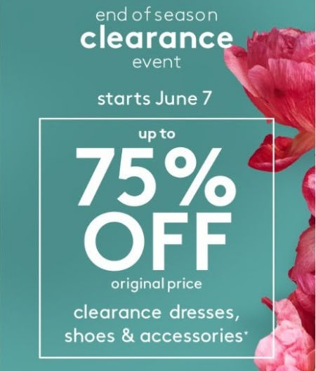 End of Season Clearance Event from David's Bridal