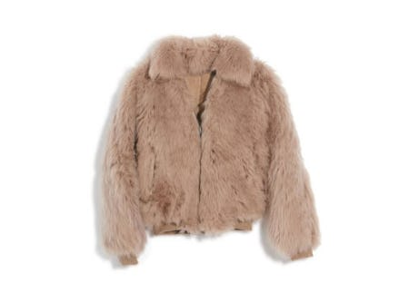 Genuine Shearling Mongolian Coat from Nordstrom