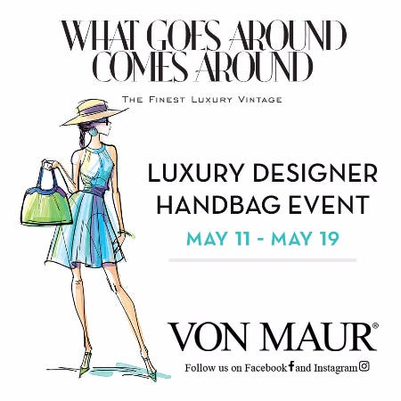 WGACA Luxury Designer Handbag Event from Von Maur