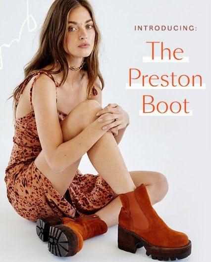 Introducing The Preston Boot
