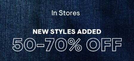 50-70% Off New Styles