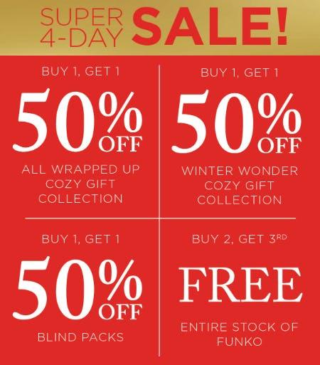 Super 4-Day Sale